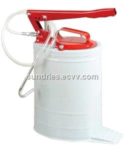 Hand Operated Oval Bucket Oil Pump Gear Lube Dispenser 20L