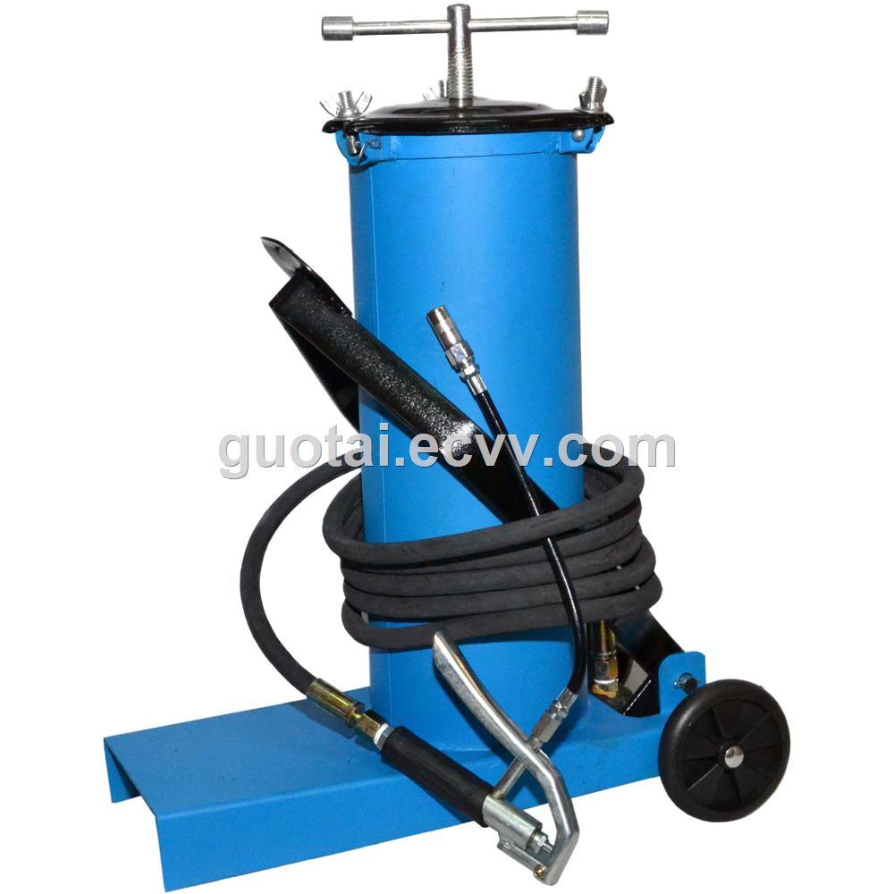 High pressure equipment portable foot grease pump lubrication bucket 6L