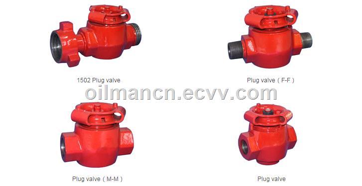 API 6A 2 3 Fig1502 FMC SPM 15000 psi Forged Plug Valves for Oilfield