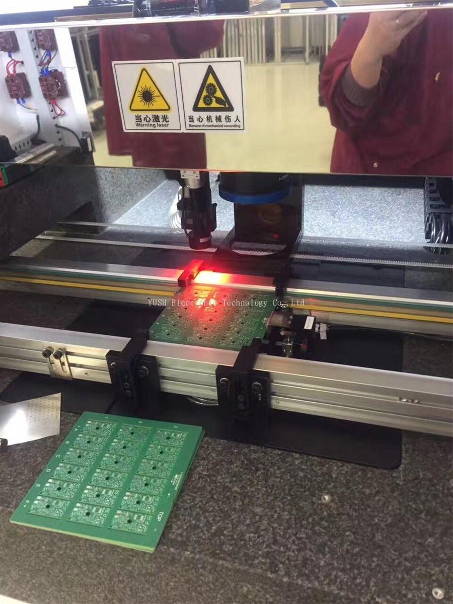 Offline Dual Worktable FPC UV Laser Depaneling Machine