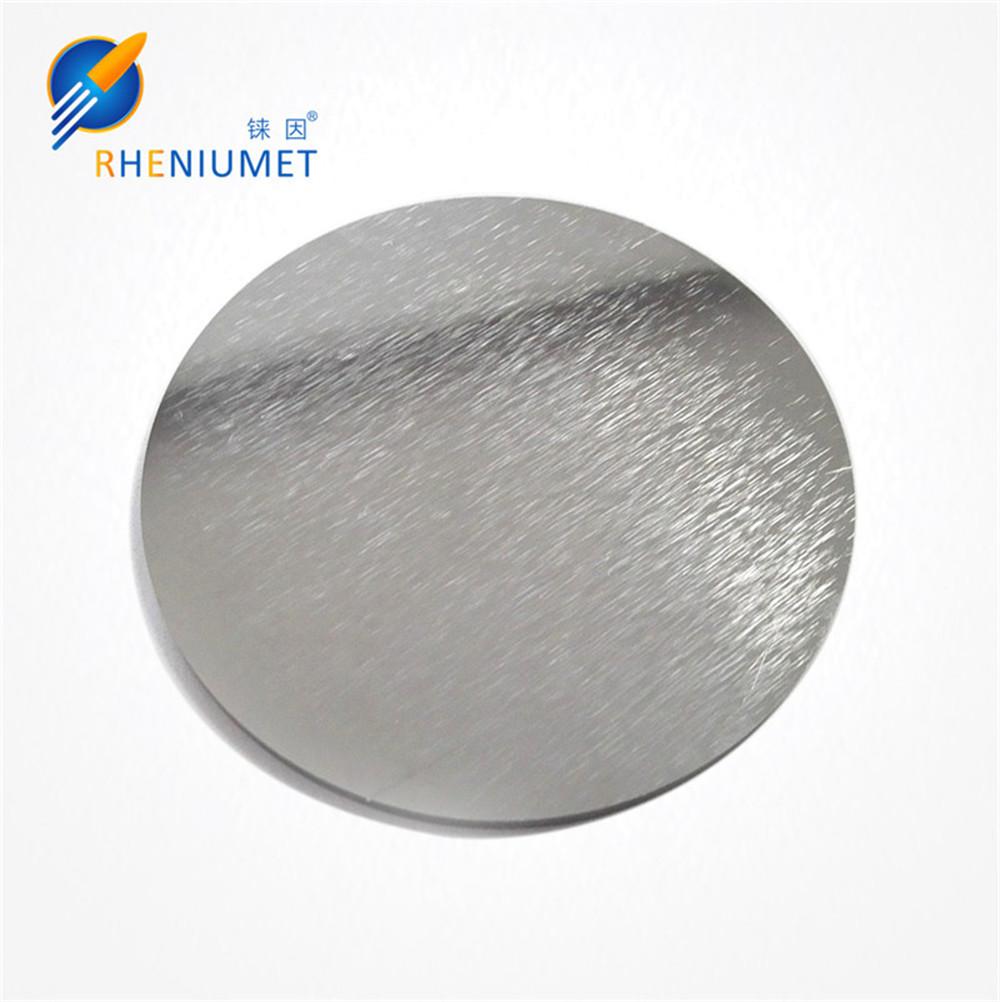 Rhenium target rhenium sputtering target