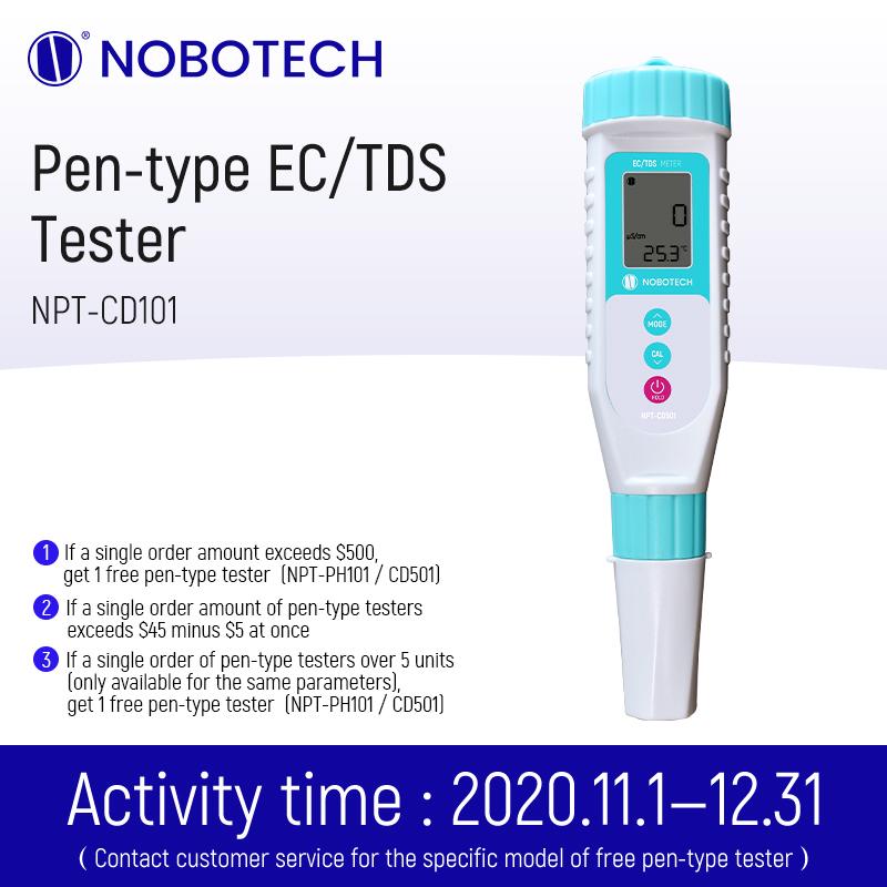 Pentype conductivity meter TDS meter