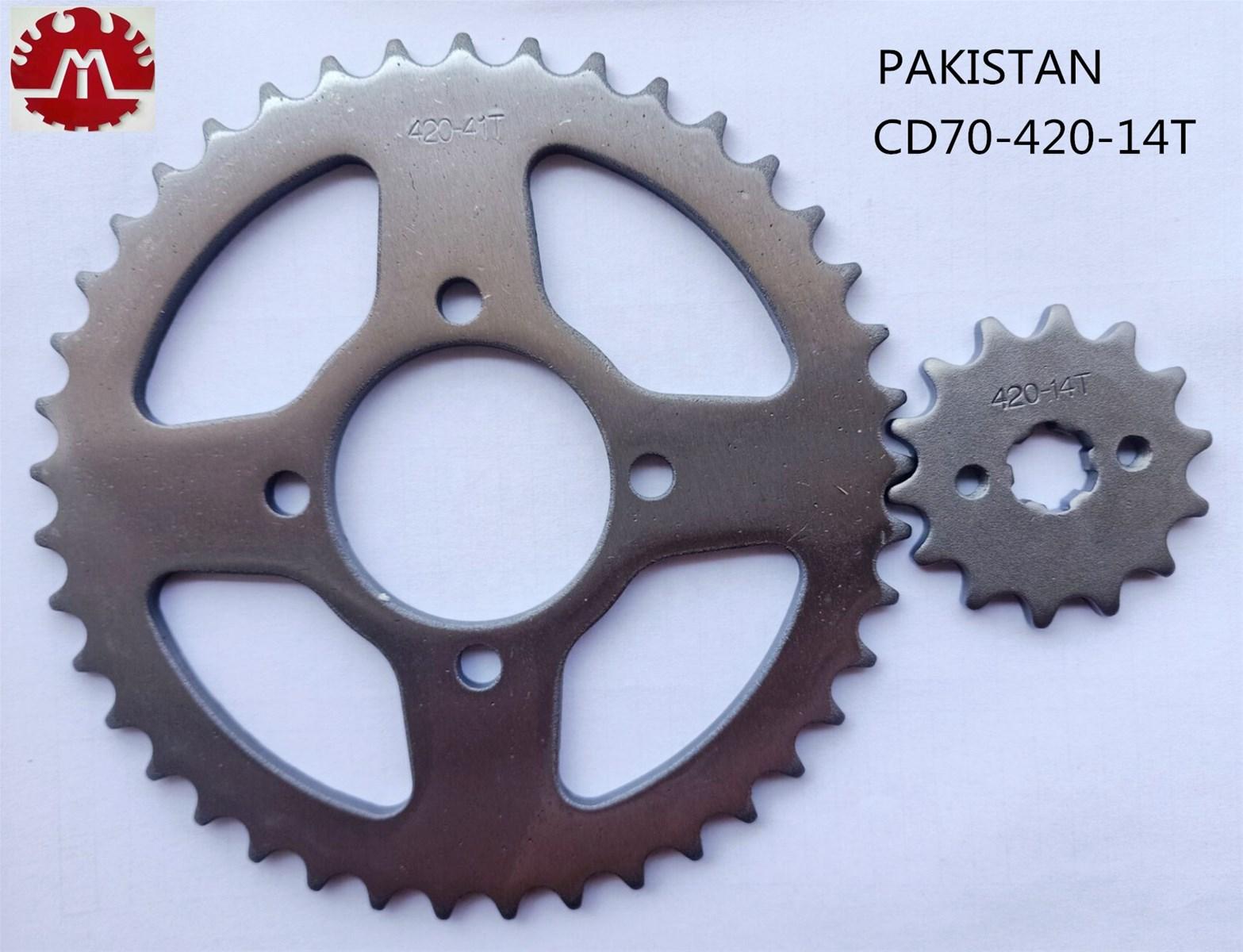 OEM Honda CD70 Motorcycle Sprocket Chain For Pakistan