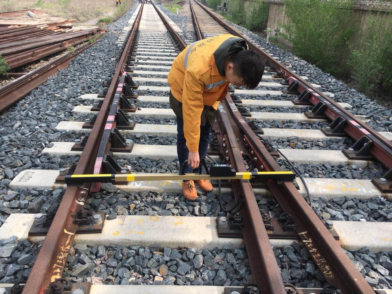 Digital Broad Track gauge for railway measurement