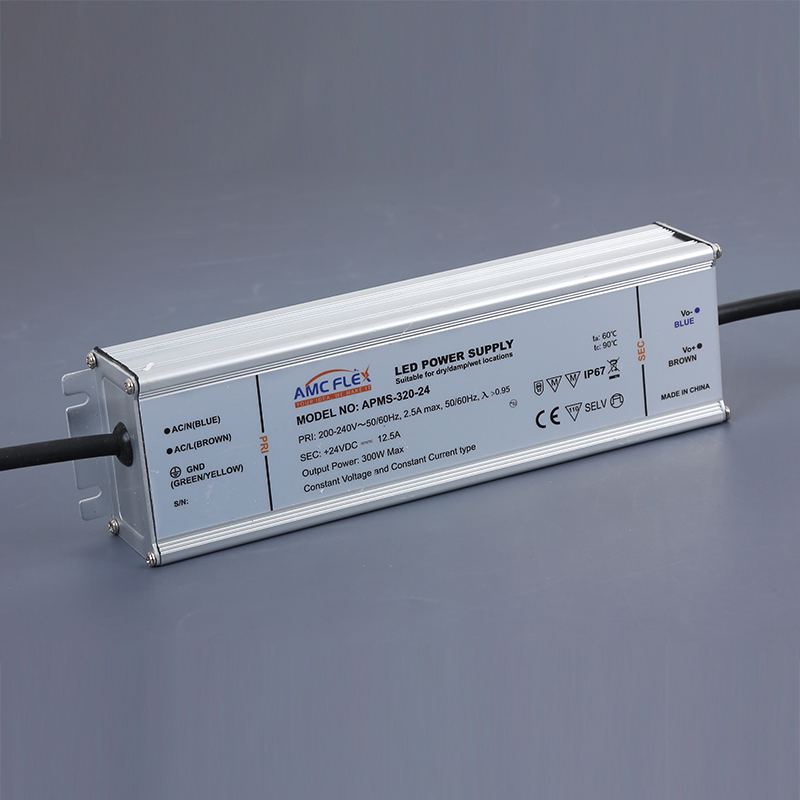 320W 54V IP67 LED Linear Waterproof LED Driver Dust proof