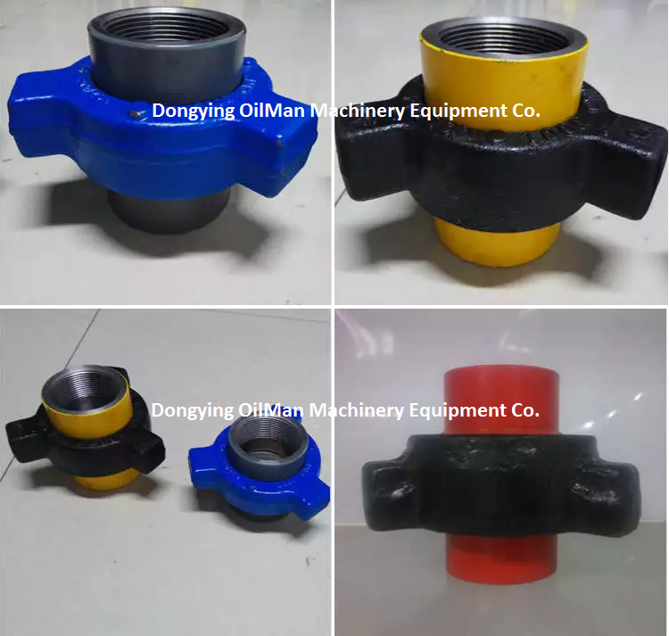 FMC WECO Type Hammer Union FIG 1502 1002 602 400 402 206 100 Manufacturer in China