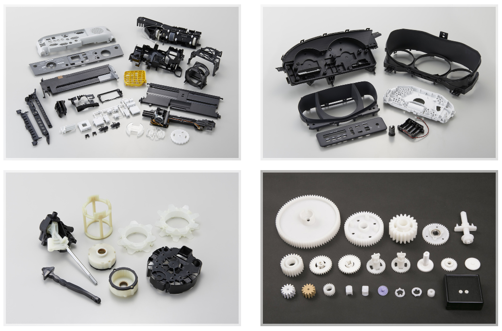high precision plastic injection molding automative parts medical parts