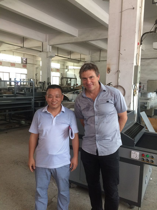 UV Curing machine for paper Printing