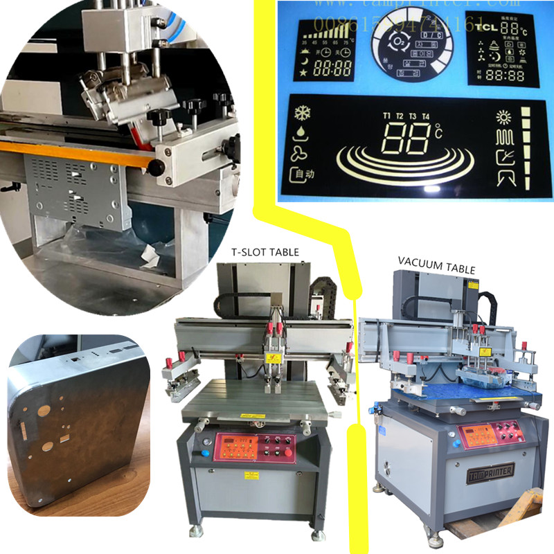 Electric Precision Vertical Plane Screen Printing Machine for Plastic