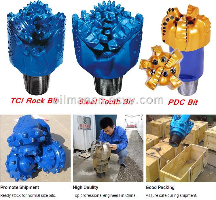 8 12 12 14 17 Oilfield API Drilling Rig TCI Drill Bit Insert Tricone Rotary Bit PDC Bit