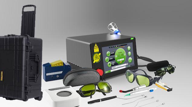 Class IV 810nm980nm 30W Diode Laser PLDD Percutaneous Laser Disc Decompression Surgery