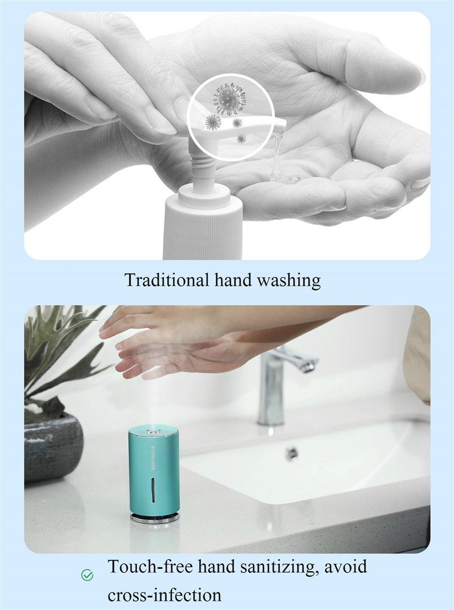 High End Simple and Efficient Disinfection Touch Free Hand Sanitizer Dispenser