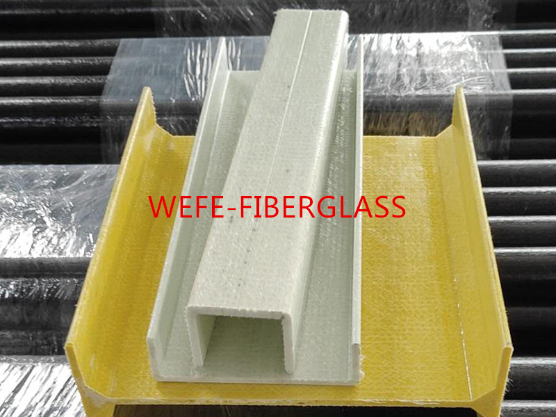 Fiberglass profile is a kind of shaped bar with fixed crosssection