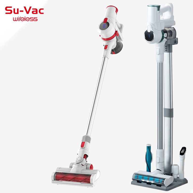 SUVAC DV8880DCXW POWERFUL SUCTION CORDLESS UPRIGHT CYCLONE VACUUM CLEANER
