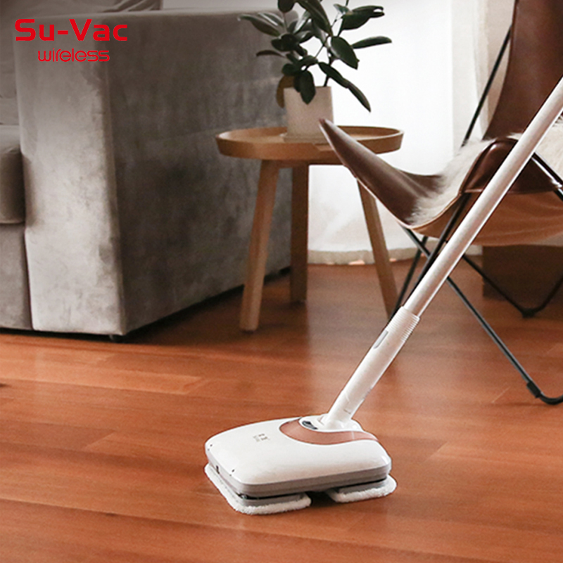 SUVAC DV8901 Cordless Electric Reciprocatingmotion Mop Cleaner with 110min Super long useFloor Cleaner Mop 2 in 1 Po
