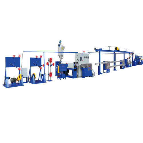 High speed PVC wire insulation machine