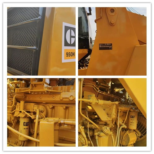Used CATERPILLAR 950H wheel loader on sale