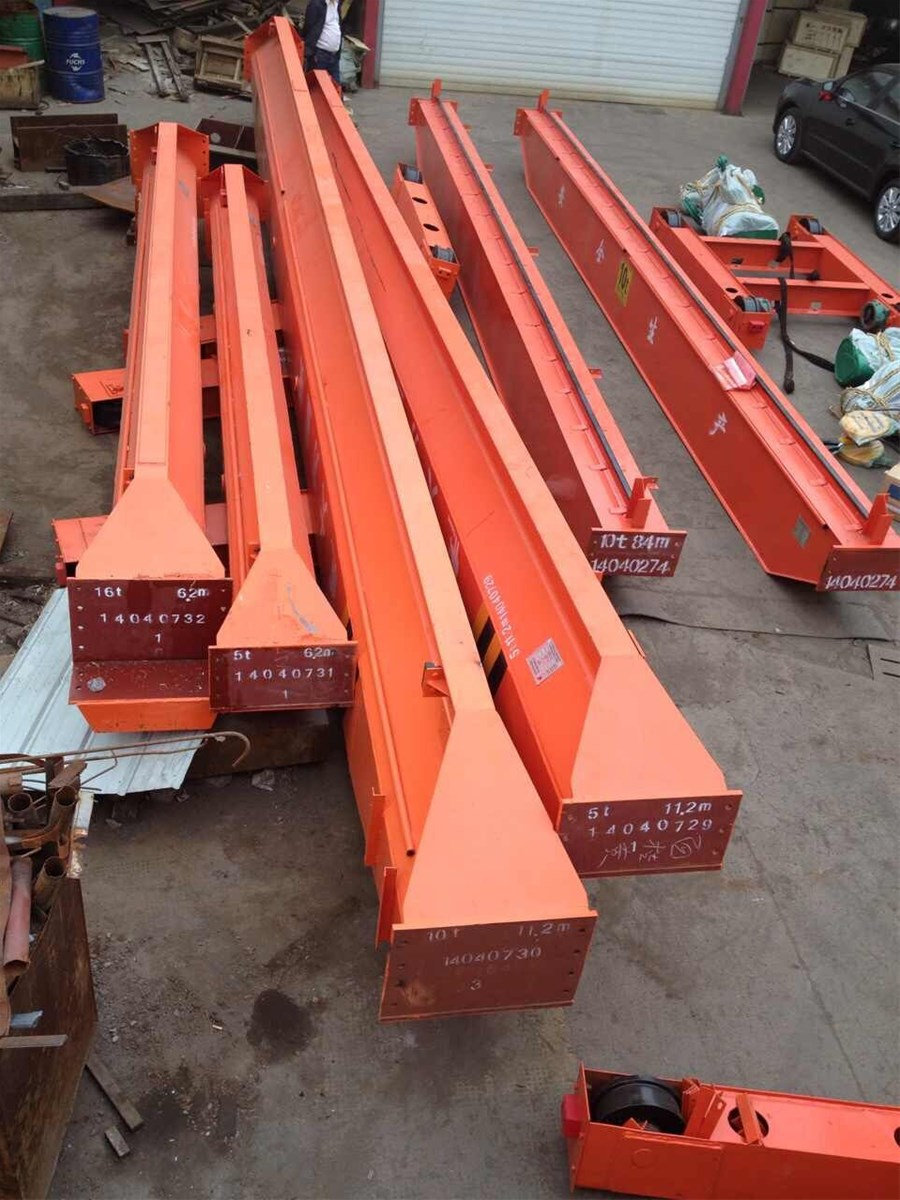 5ton Electric hoist single girder bridge crane lifting equipment