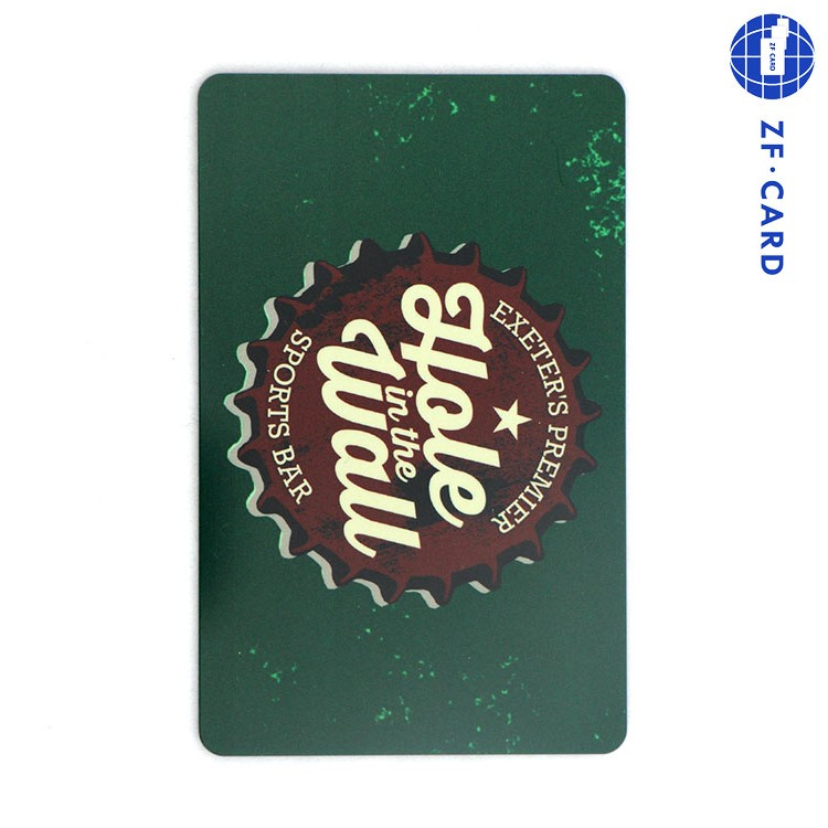 Custom printing contactless RFID smart Ti2048 hotel key card
