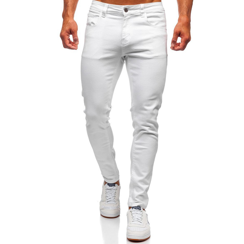 MenS New Fashion Casual Stretch Skinny Jeans