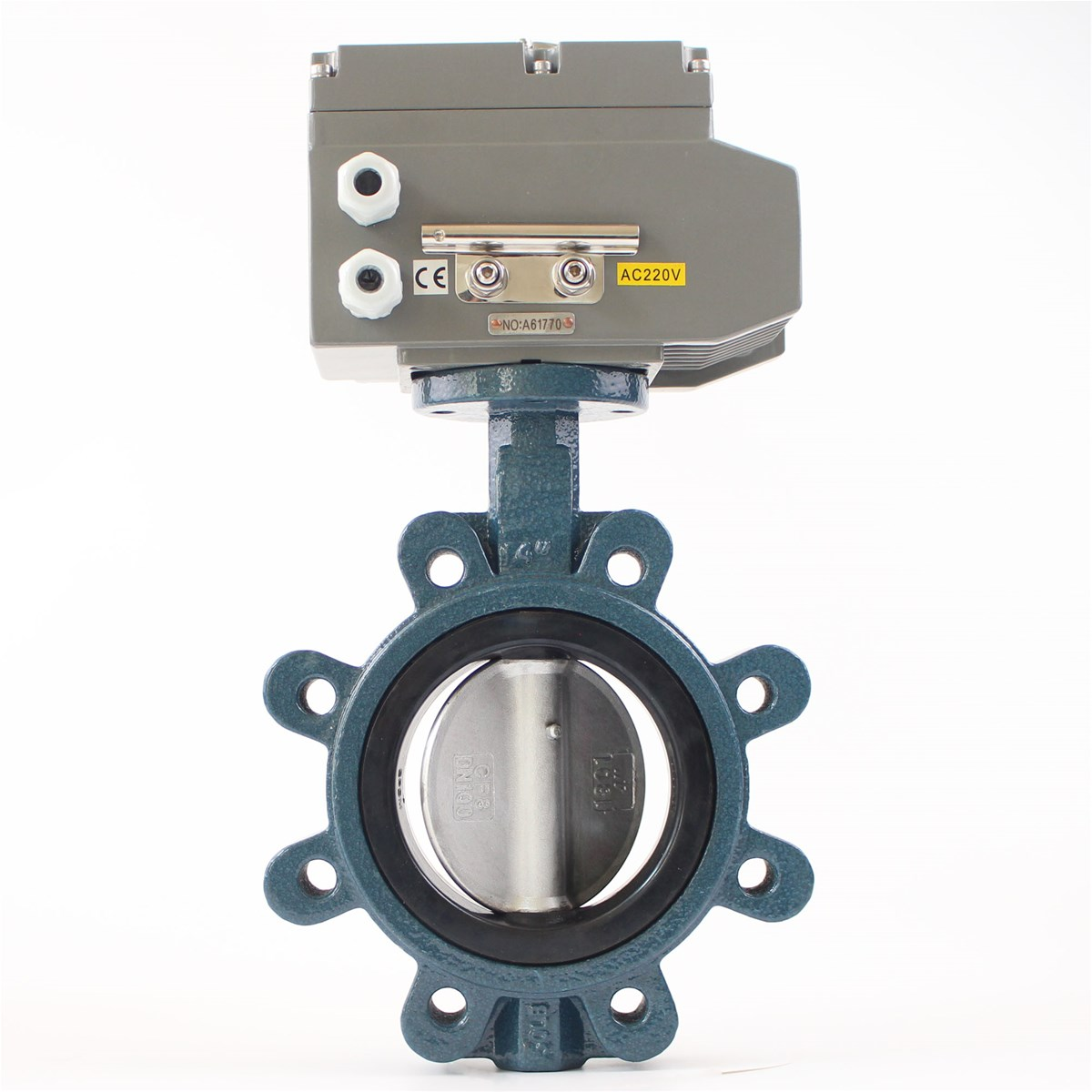 Lug Type Electric Actuated Butterfly Valve