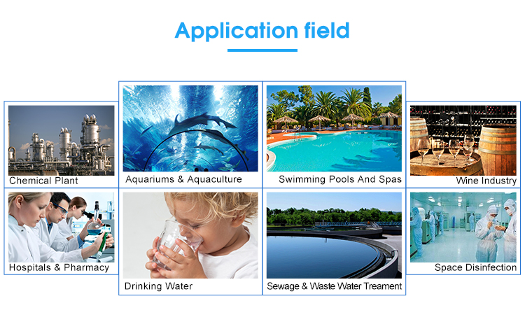 RAS Fish Farming Water UVSterilizer for Aquaculture water System
