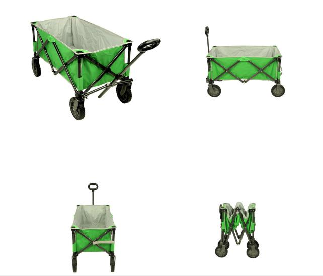Folding wago Oxford fabric Fourwheel folding car