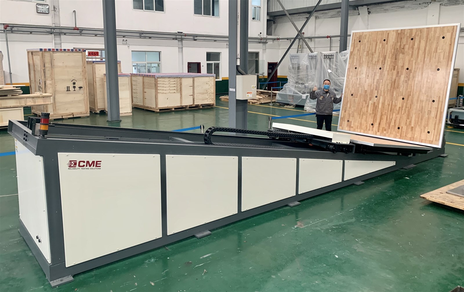 ISTA Standard Incline Impact test equipment for product packaging