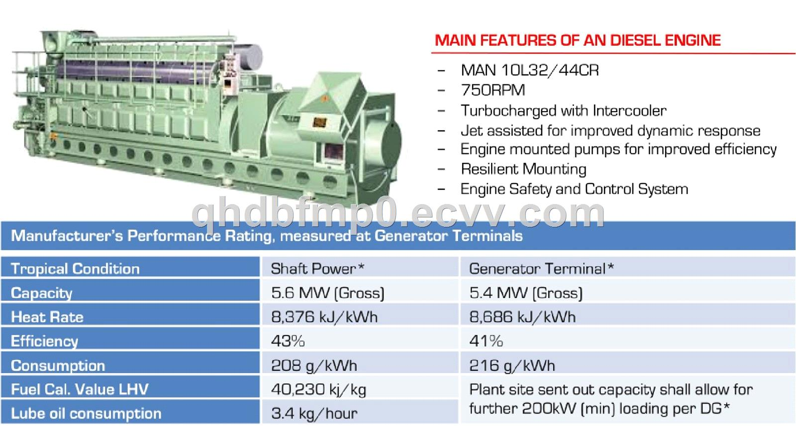 MAN 10L3244CR in stock DNV made in 2012