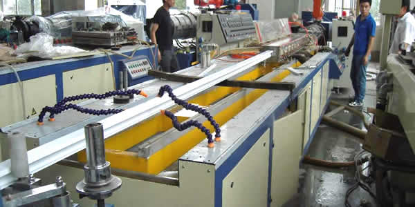 Custom Qualified PVC Extruded Profiles from Plastic Extruding
