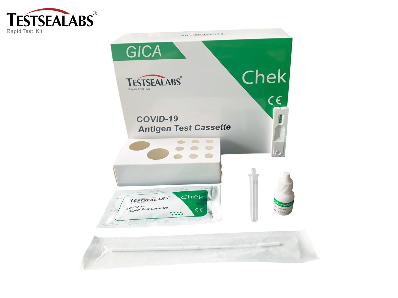 COVID19 Antigen test cassette nasopharyngeal swab