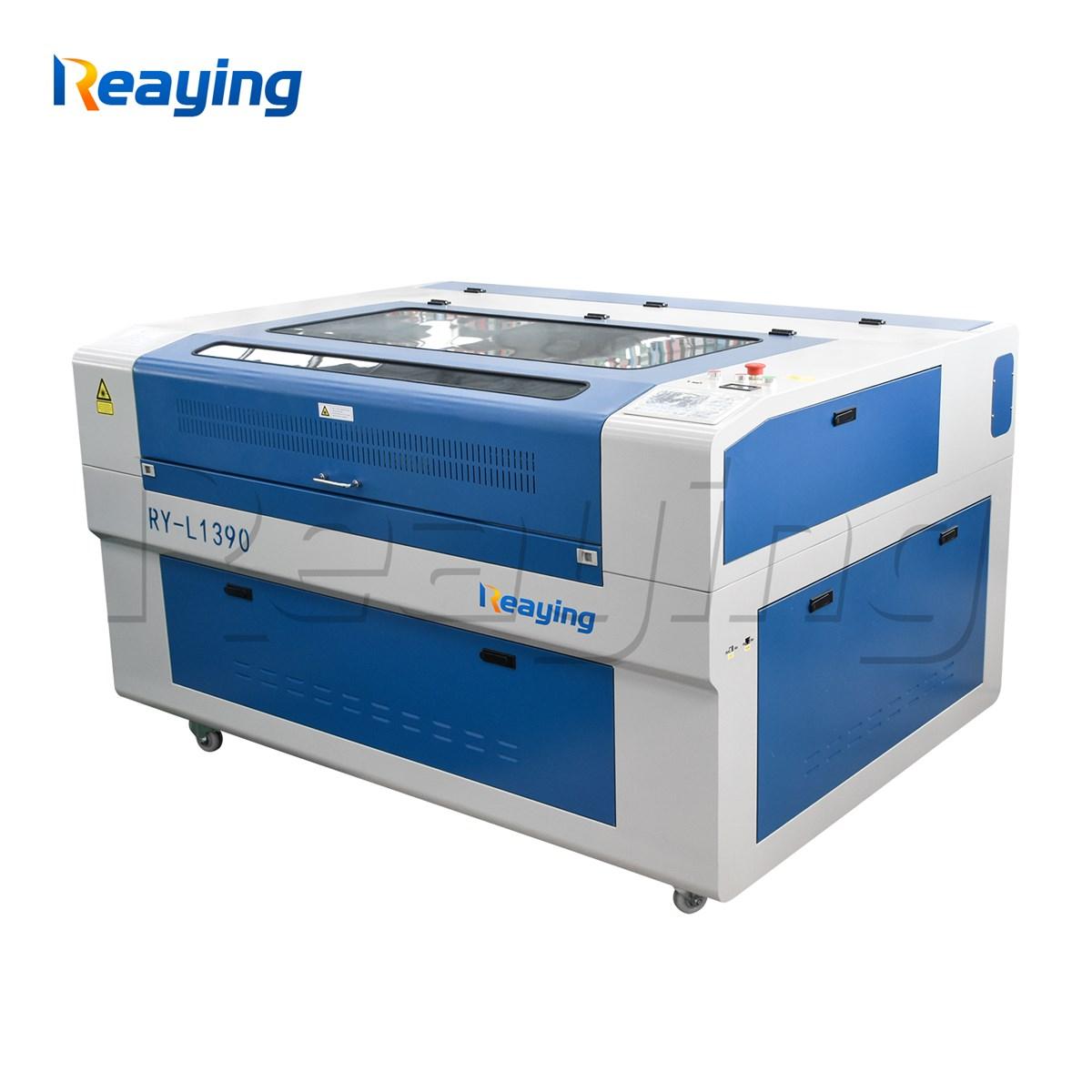 CNC CO2 laser engraving cutting machine RYL1390 ruida control system laser engraver machine offline work