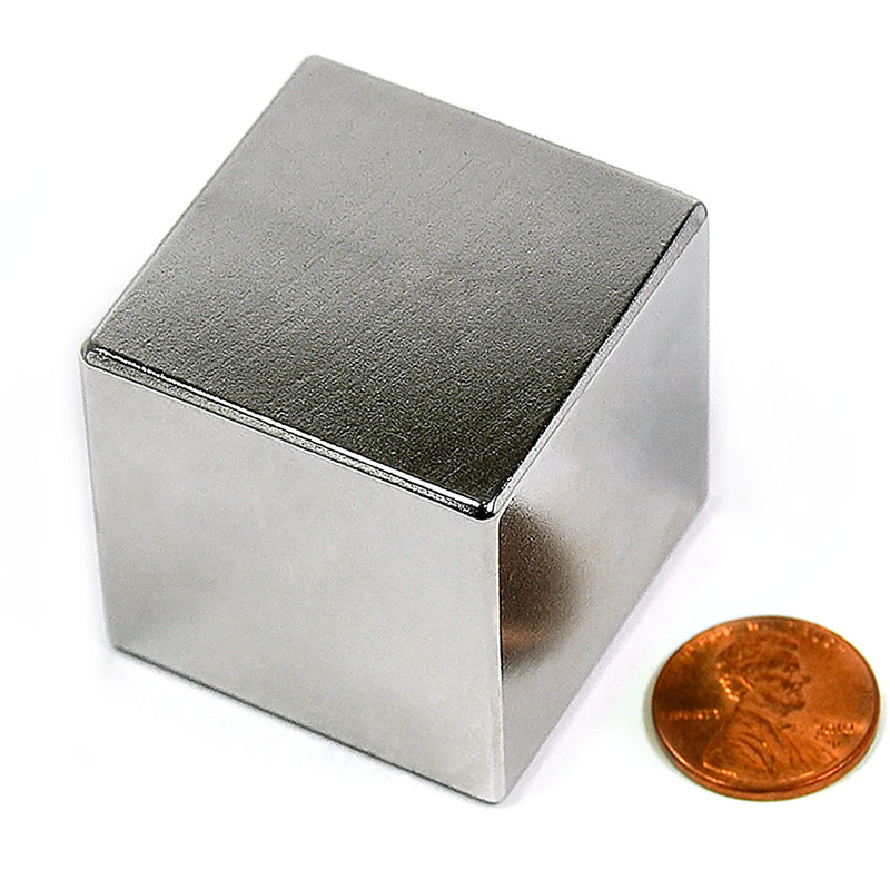 Strong Sintered NdFeB permanent block magnet