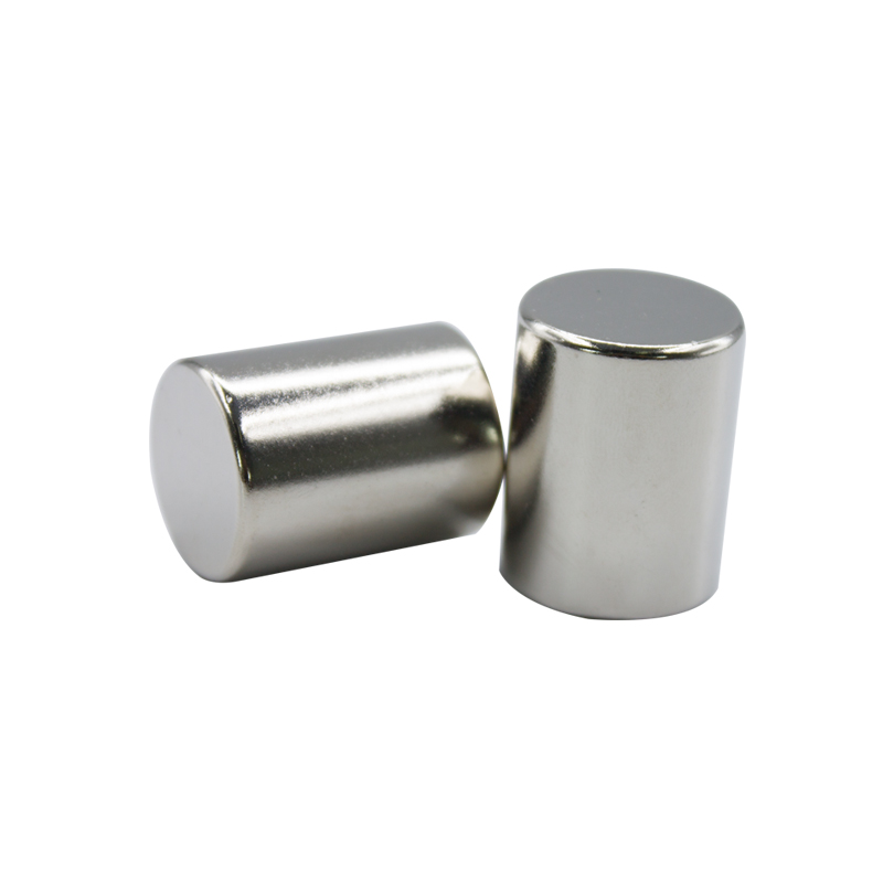 N52 Strong pulling force sintered Neodymium Disc magnet magnetic bar round magnet Cylinder