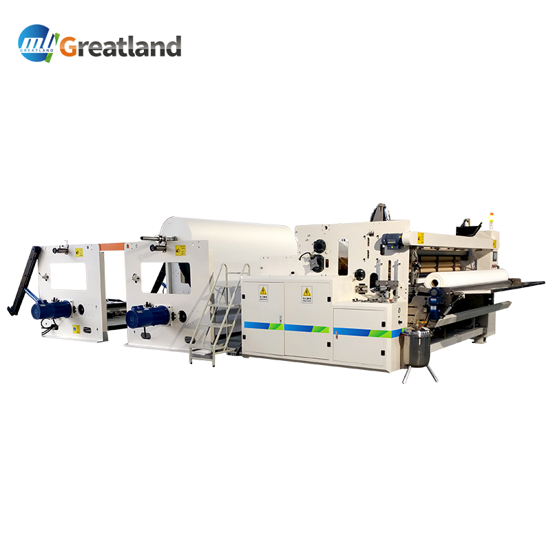 CE certificate automatic toilet tissue paper and kitchen towel product making machine