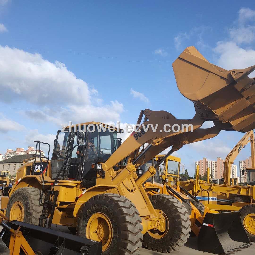 jiinan Used CAT 966G Loader factory