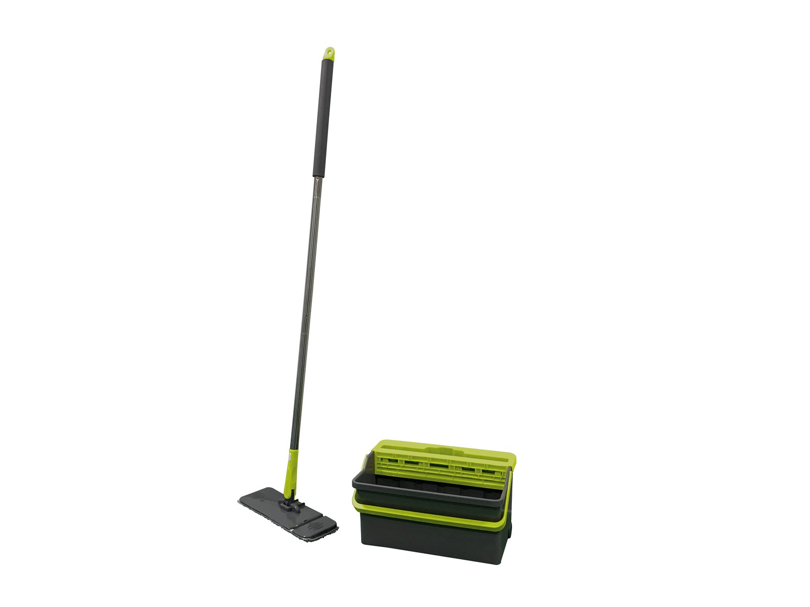 TOO EASY Magic Squeegee Mop and Bucket