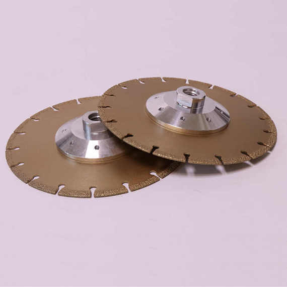Cast Iron Cutting Disc Vacuum Brazed Wheel