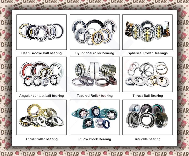 Single Row Angular Contact Ball Bearing for High Speed Auto PartsMachine Tool SpindleCNC machineMotor Bearing