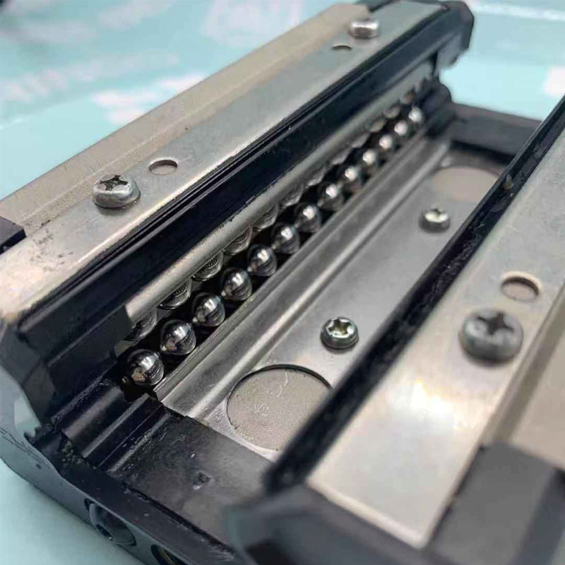 China Factory Supply Linear Motion Block Bearing HSR Series Linear Sliding Block Bearing with Guide Rail Carriage