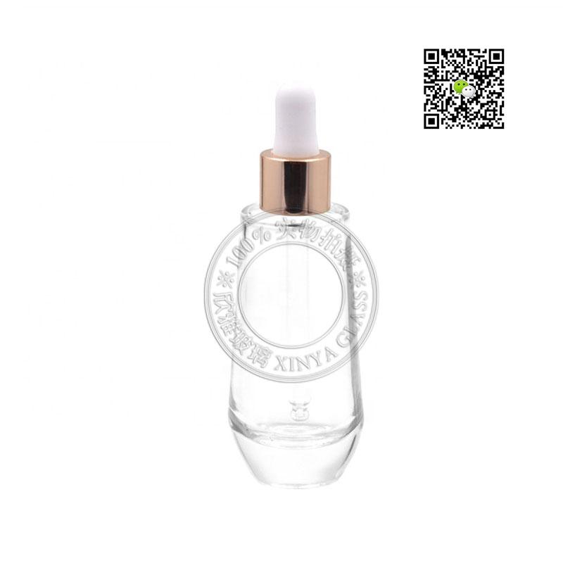 30ml serum dropper bottle essense lotion foundation cream concealer glass packaging