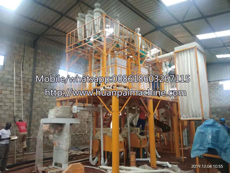Maize corn and Wheat Flour Milling Machine