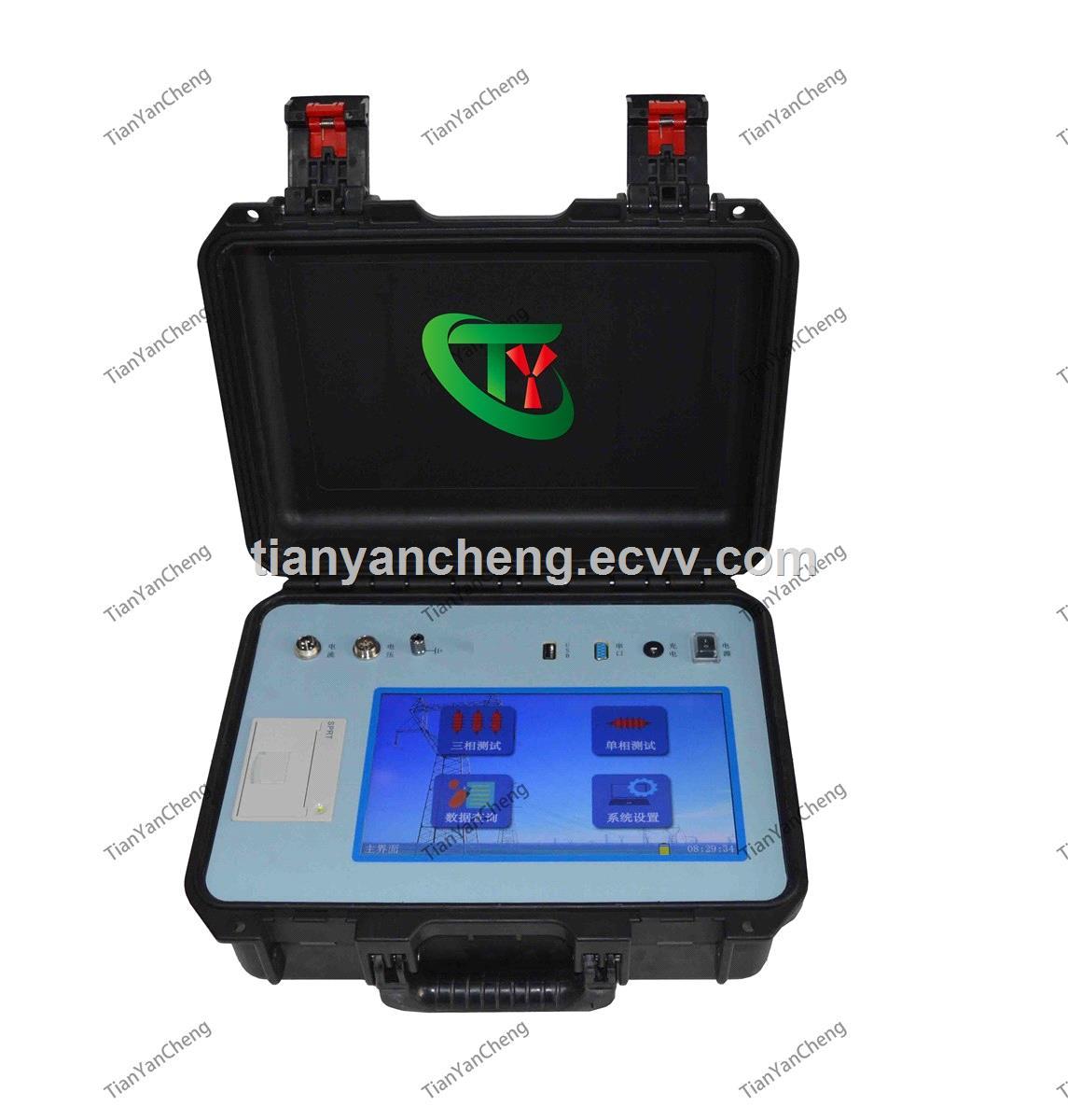 TY6630 Zinc oxide arrester tester Intelligent arrester characteristic tester Antijamming Zinc Oxide Arrester V
