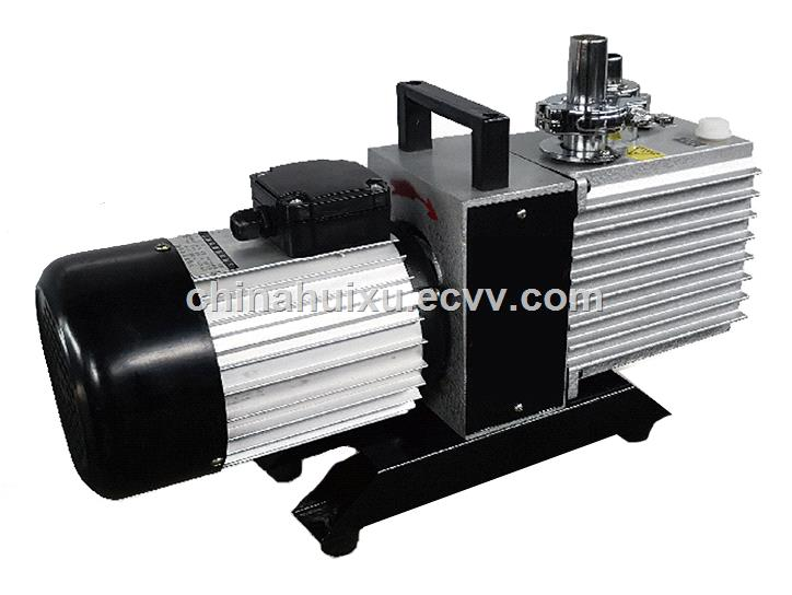 single stage rotary vacuum pump for packaging printing refrigeration