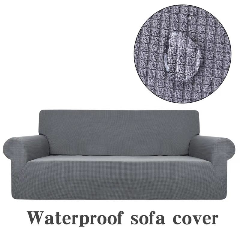 Amazon hot sale polyester microfiber water proof sofa cover