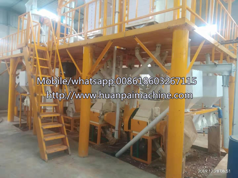 3040 tonday wheat flour milling grinding machine plantflour mill machinery
