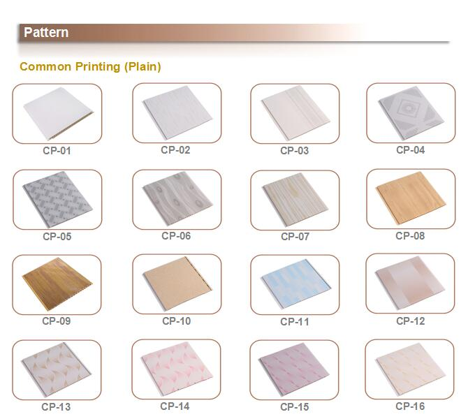 pvc ceiling and wall panel Suspended Tiles