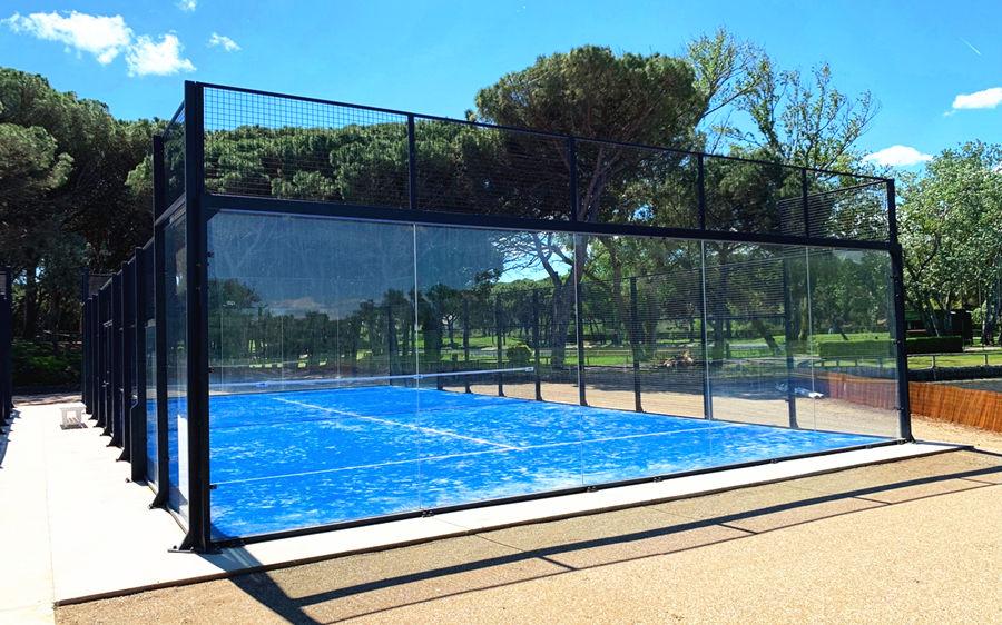 China Model Panoramic Padel Tennis Court Manufacturer