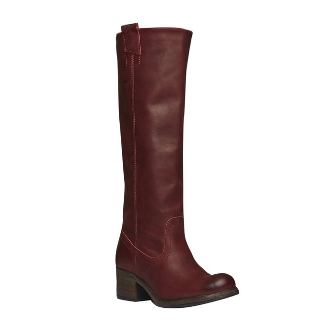 Cossack Red for Women and leather shoes