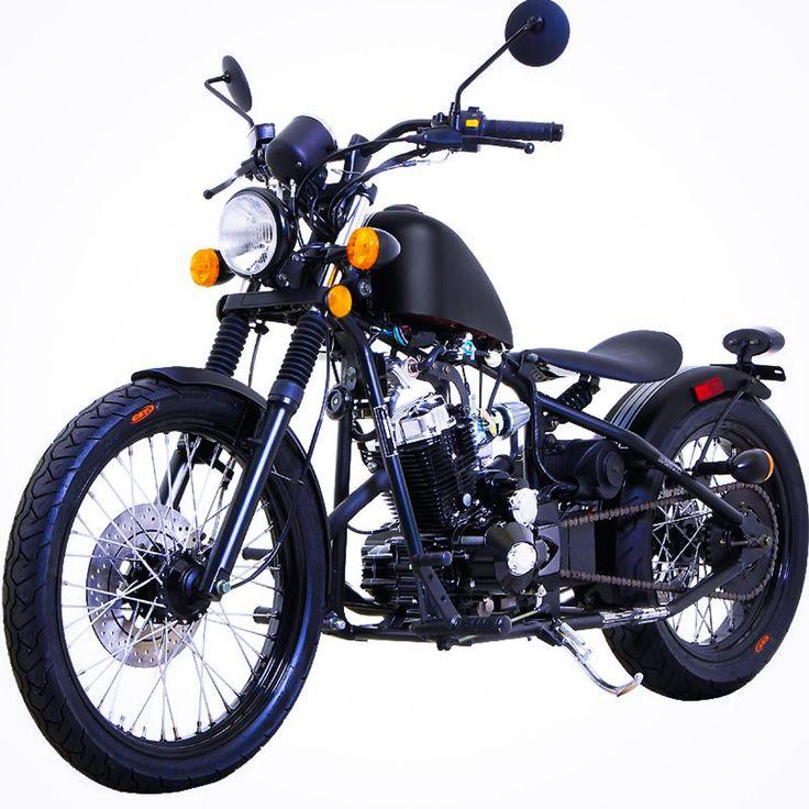 Custom 250CC Bobber Motorcycle MC D250 RTB